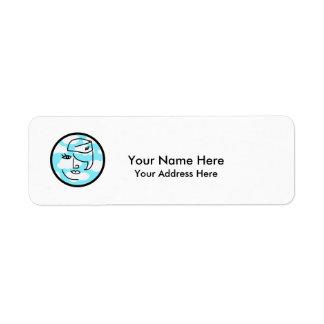 Retro Stewardess Labels