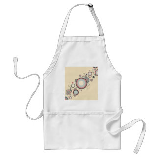 Retro Streaming Rings Adult Apron