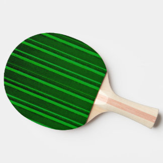 Retro Stripe Green Ping Pong Paddle