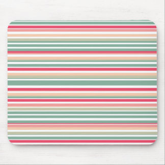 Retro Stripe Mousepad