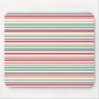 Retro Stripe Mousepad