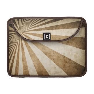 Retro stripe pattern background MacBook pro sleeve