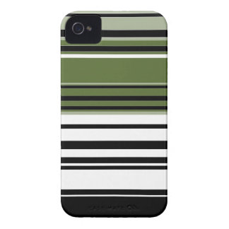 Retro Striped Abstract Art 2 Case-Mate iPhone 4 Cases