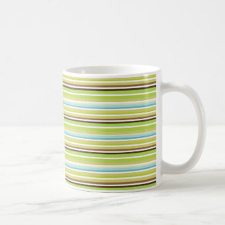 Retro striped mug