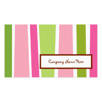 retro stripes Double-Sided standard business cards (Pack of 100)