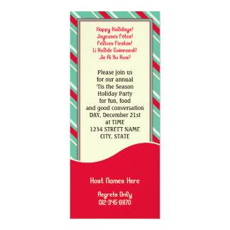 Retro Stripes Card