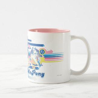 Retro Stripes Design Mugs