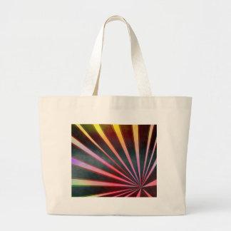 Retro stripes designed by Christine Bässler Large Tote Bag