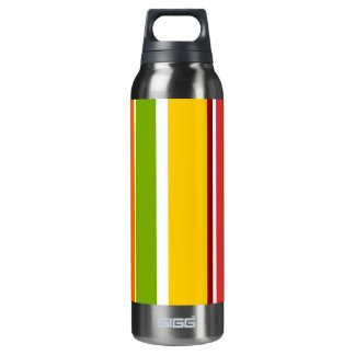 Retro Stripes Liberty Bottle 16 Oz Insulated SIGG Thermos Water Bottle