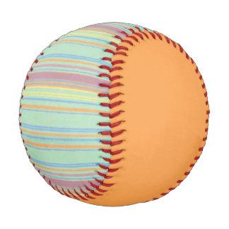 Retro Stripes Orange Baseball