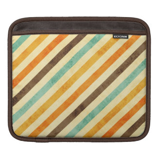 Retro Stripes Pattern Sleeves For iPads