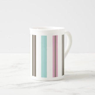 Retro Stripes Tea Cup