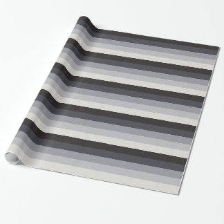Retro Stripes Wrapping Paper