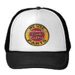 Retro stud muffin hat