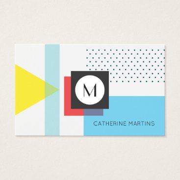 Professional Business Retro style abstract template business card