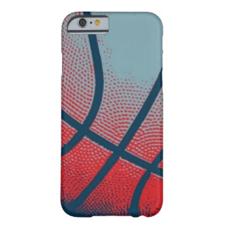 Retro Style Basketball Pop Art Barely There iPhone 6 Case