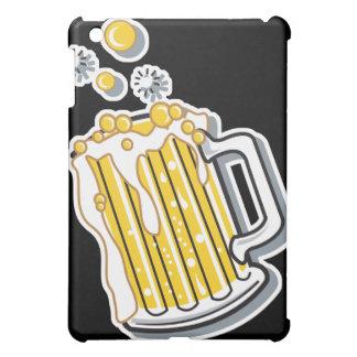 retro style beer graphic iPad mini case