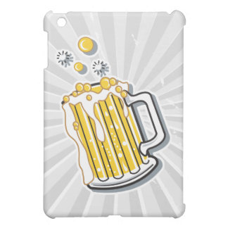 retro style beer graphic iPad mini covers
