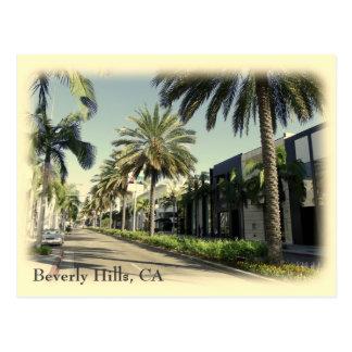 Retro Style Beverly Hills Postcard!