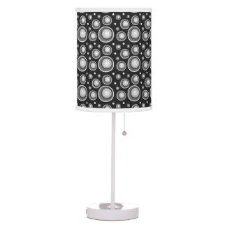 Retro Style Black White Polka Dots