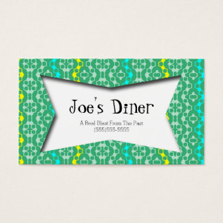 Retro-Style Business crds Business Card