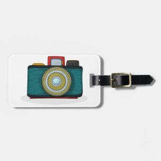 Retro Style Camera Luggage Tags