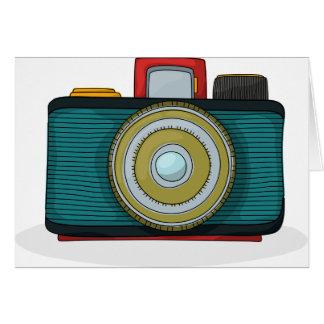 Retro Style Camera Note Cards