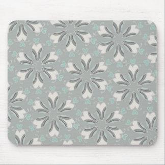 Retro Style Customizable Wedding Pattern Mouse Pad
