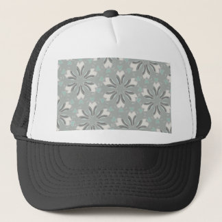 Retro Style Customizable Wedding Pattern Trucker Hat