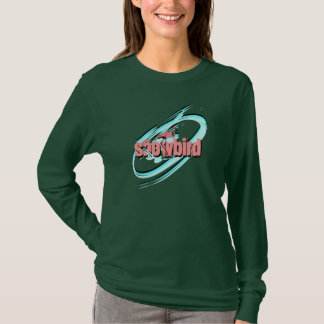 Retro Style Flamingo Bird Shirts Galaxy Snowbird