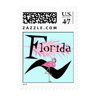 Retro Style Flamingo Feather Quill Stamps Snowbird