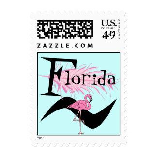 Retro Style Flamingo Feather Quill Stamps Snowbird