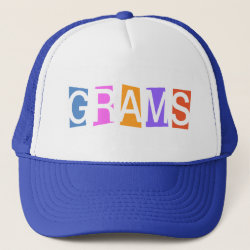 Retro Grams Trucker Hat