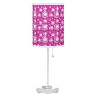 Retro Style Hot Pink Polka Dots