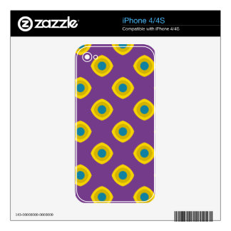 Retro style iPhone 4S decal