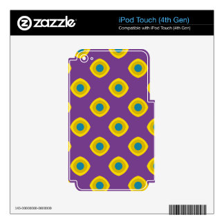 Retro style iPod touch 4G decal
