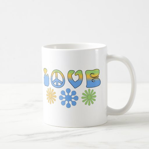 Retro Style Love Tees and Gifts for Kids and Adult Mugs