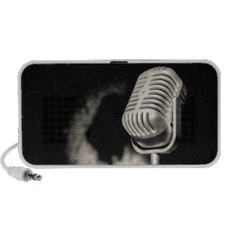 Retro Style Microphone Speaker