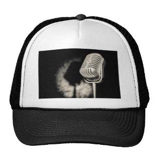 Retro Style Microphone Trucker Hat