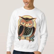 Retro Style Owl Sweatshirt