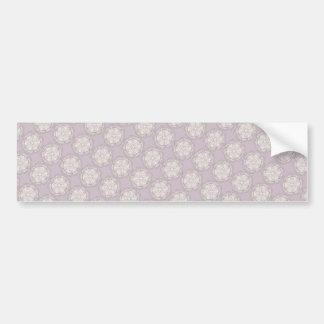 Retro Style Pattern - Custom Wedding Supplies Bumper Sticker