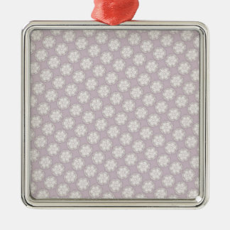 Retro Style Pattern - Custom Wedding Supplies Metal Ornament