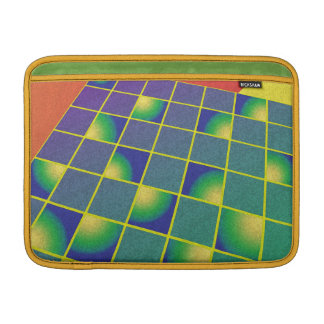 Retro style perspetive MacBook sleeve