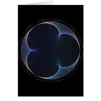 Retro-style Prism Card
