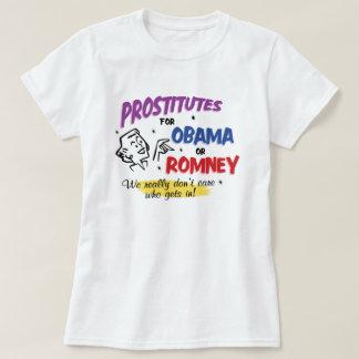 Retro Style Prostitutes For Obama or Romney Shirt