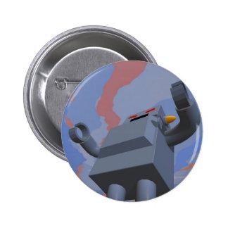 Retro Style Robot 2 Button
