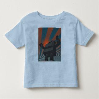 Retro Style Robot 4 Shirt