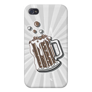 retro style root beer graphic cover for iPhone 4