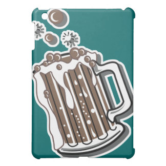 retro style root beer graphic cover for the iPad mini