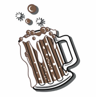 retro style root beer graphic cut outs